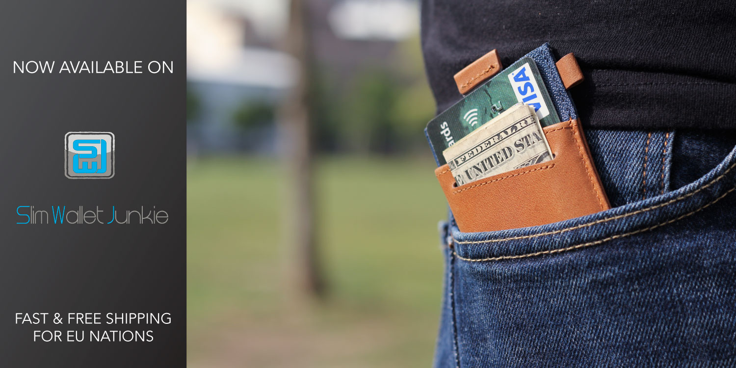 Front pocket slim wallet